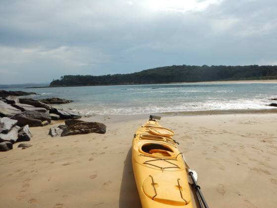 RegionX Kayak Tour at the Murramarang NP Marine Park